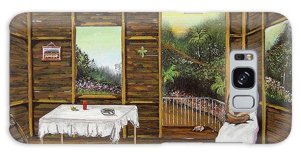 Inside Wooden Home Galaxy Case