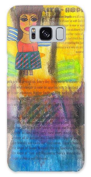 Inspiration Angels Galaxy Case by Angela L Walker