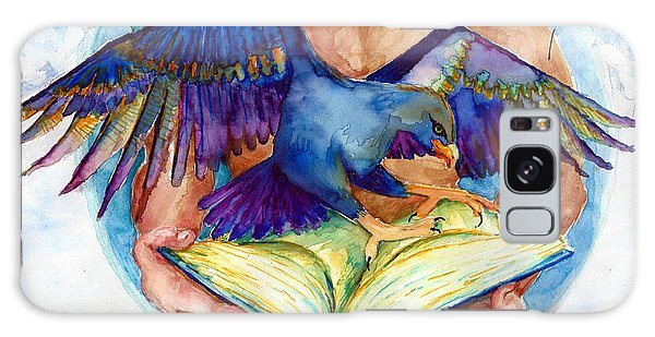 Inspiration Spreads Its Wings Galaxy Case by Melinda Dare Benfield