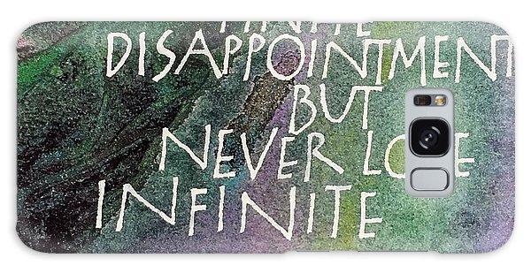 Inspirational Saying Hope Galaxy Case
