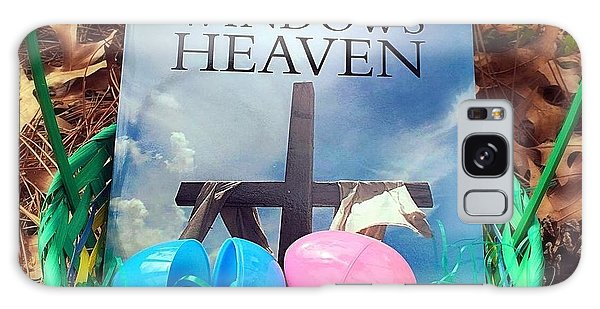 lnspirational Book Windows From Heaven Galaxy Case