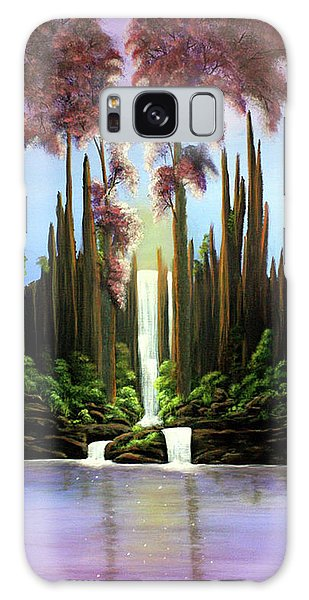 Inspireation Falls Galaxy Case