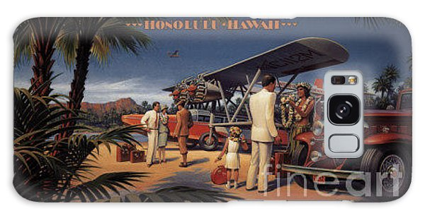 Inter Island Airways-honolulu Hawaii Galaxy Case