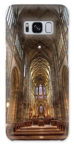 Interior Of Saint Vitus Cathedral Galaxy Case by Gabor Pozsgai