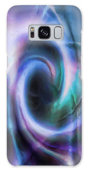 Internal Abstract Galaxy Case by Tyler Robbins