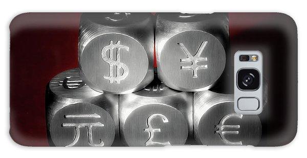 England Galaxy Case - International Currency Symbols II by Tom Mc Nemar
