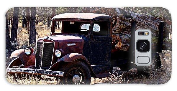 International Log Truck Galaxy Case by Nick Kloepping