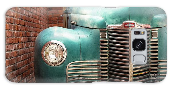 Galaxy Case featuring the photograph International Truck 2 by Heidi Hermes