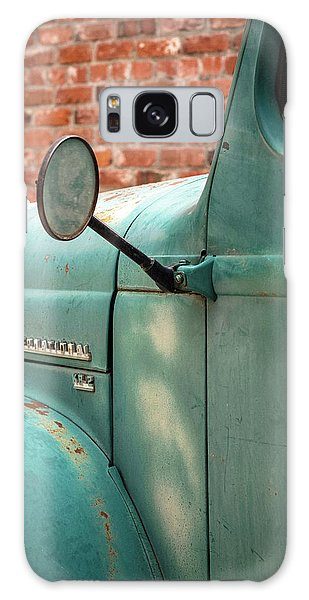 Galaxy Case featuring the photograph International Truck Side View by Heidi Hermes