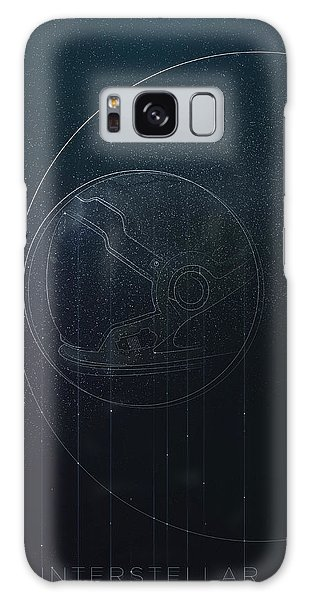 Interstellar Movie Poster Galaxy Case