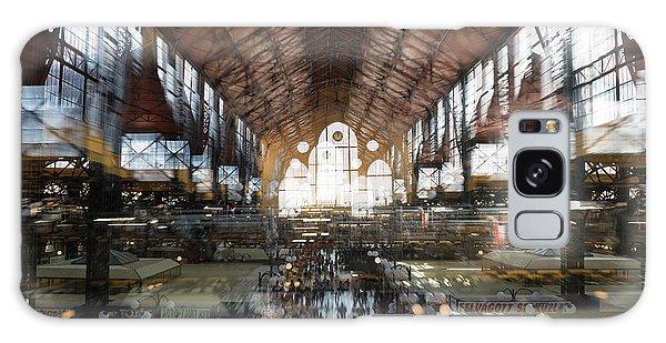 Galaxy Case featuring the photograph Interstellar Transit Hall by Alex Lapidus