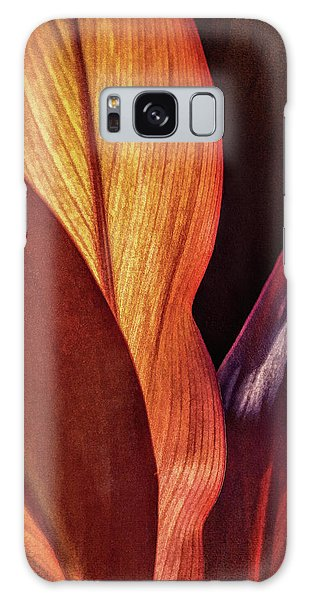 Interweaving Leaves I Galaxy Case