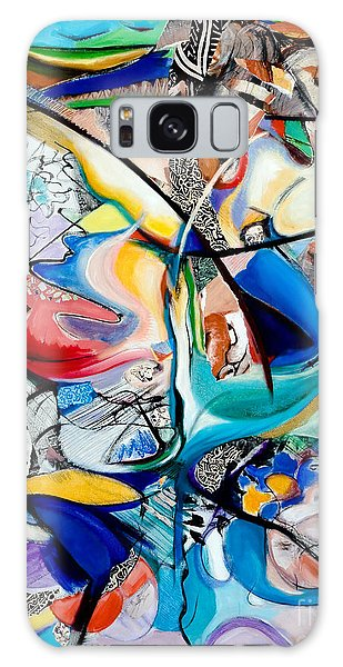 Intimate Glimpses - Journey Of Life Galaxy Case by Kerryn Madsen-Pietsch