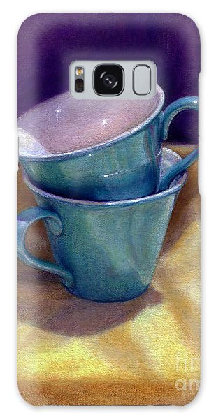 Into Cups Galaxy Case by Jane Bucci