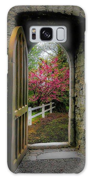 Galaxy Case featuring the photograph Into Irish Spring by James Truett