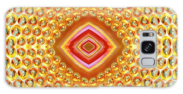 Galaxy Case featuring the digital art Into The Centre - Horizontal by Wendy Wilton