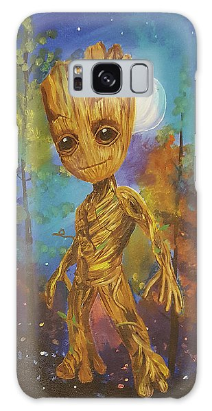 Into The Eyes Of Baby Groot Galaxy Case
