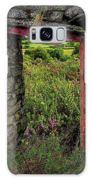 Galaxy Case featuring the photograph Into The Magical Irish Countryside by James Truett