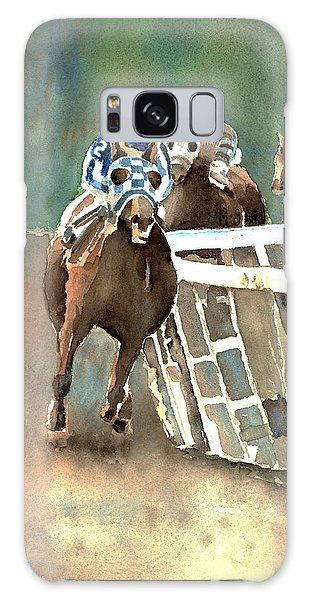 Into The Stretch And Headed For Home-secretariat Galaxy Case