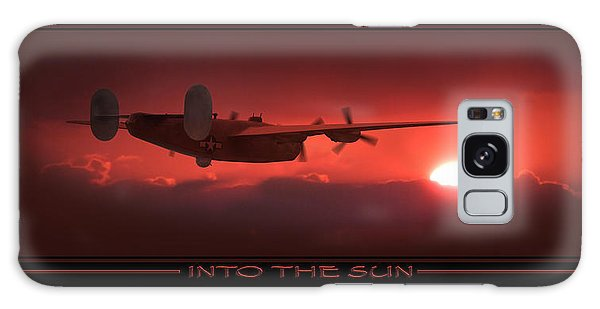 Bomber Galaxy Case - Into The Sun Show Print by Mike McGlothlen