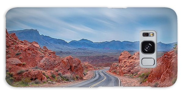 Into The Valley Of Fire Galaxy Case