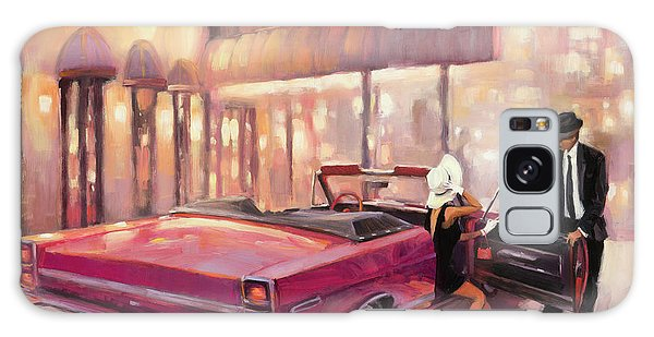 Galaxy Case featuring the painting Into You by Steve Henderson