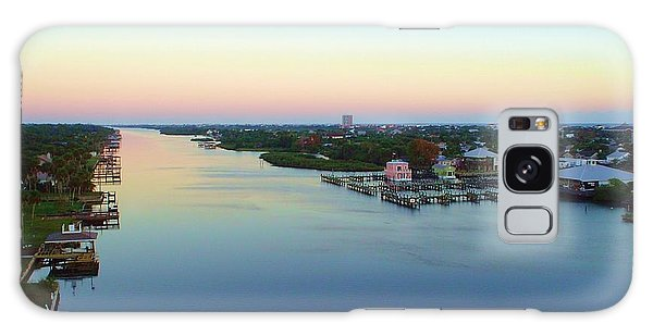 Intracoastal Rainbow Sky Galaxy Case by Cheryl Waugh Whitney