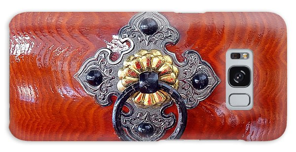 Intricate Bronze Fittings On A Drum Galaxy Case by Yali Shi