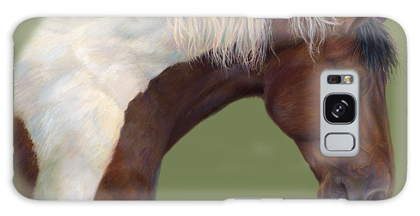 White Horse Galaxy S8 Case - Intrigued by Lucie Bilodeau