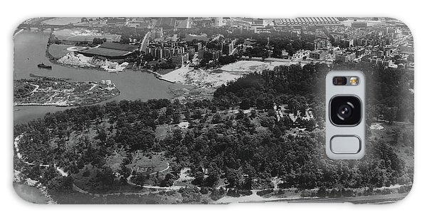Inwood Hill Park Aerial, 1935 Galaxy Case by Cole Thompson