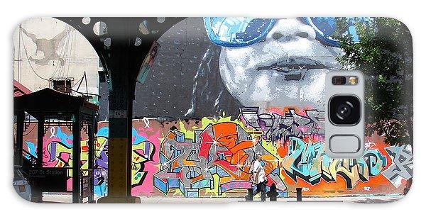 Inwood Street Art  Galaxy Case