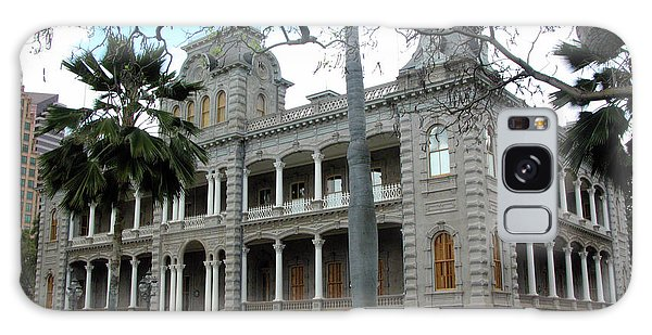 Galaxy Case featuring the photograph Iolani Palace, Honolulu, Hawaii by Mark Czerniec