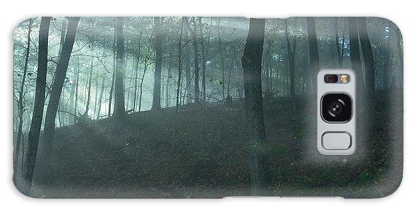 Iowa Fog Rays Galaxy Case
