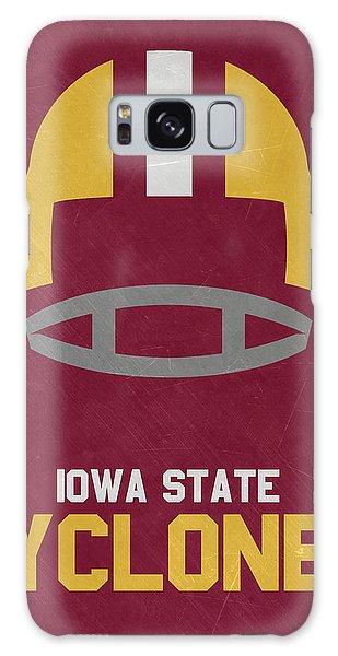 March Galaxy Case - Iowa State Cyclones Vintage Football Art by Joe Hamilton