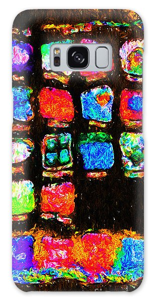 Iphone In Abstract Galaxy Case