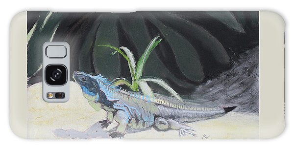 Iquana Lizard At Sarasota Jungle Galaxy Case