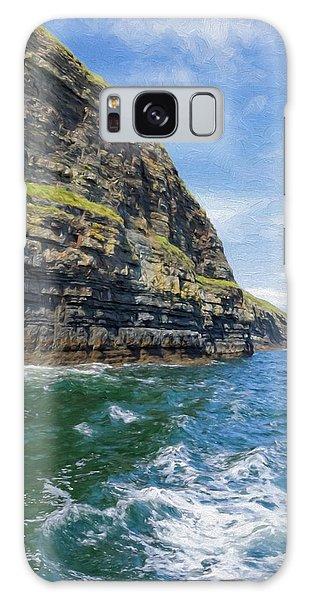 Ireland Cliffs Galaxy Case