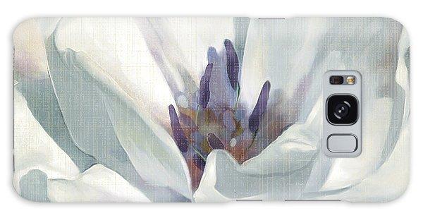 Iridescent Galaxy Case - Iridescent Bloom 1 by Carol Robinson