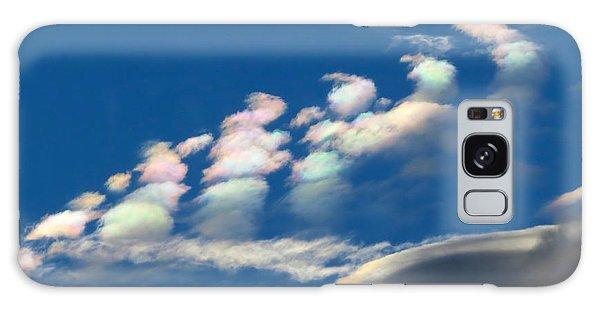 Iridescent Clouds 2 Galaxy Case