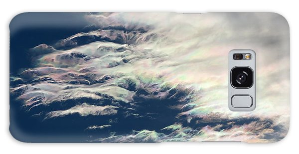 Iridescent Clouds 3 Galaxy Case