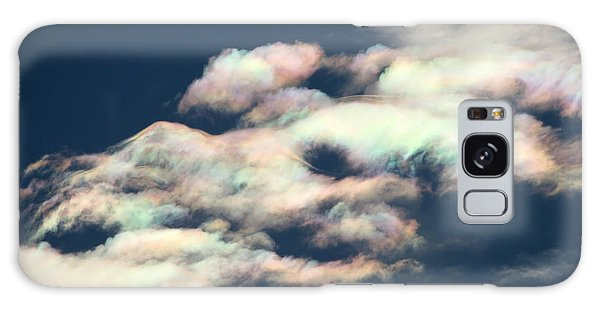 Iridescent Clouds Galaxy Case