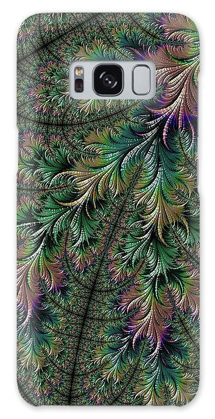Iridescent Feathers Galaxy Case