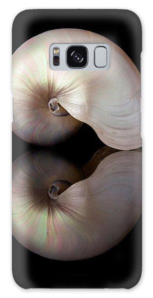 Iridescent Nautilus Shell Galaxy Case