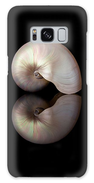Iridescent Nautilus Shell Galaxy Case