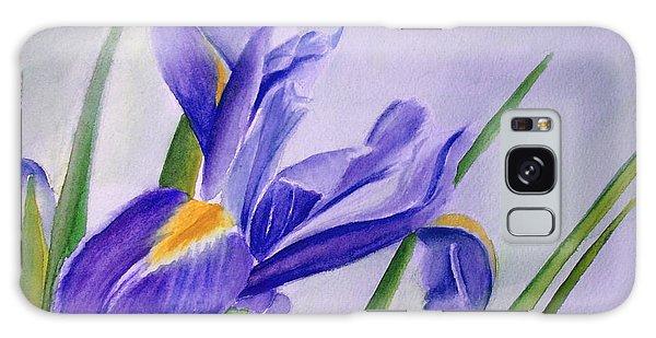 Iris Galaxy Case by Allison Ashton