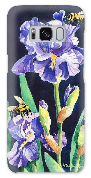 Iris And Bees Galaxy Case