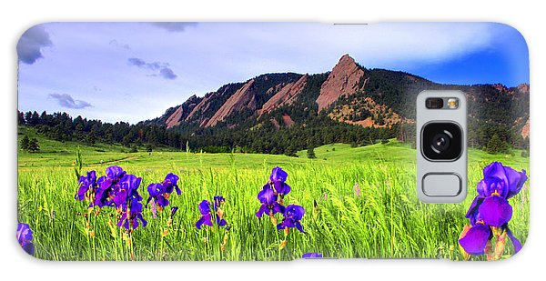 Iris And Flatirons Galaxy Case by Scott Mahon