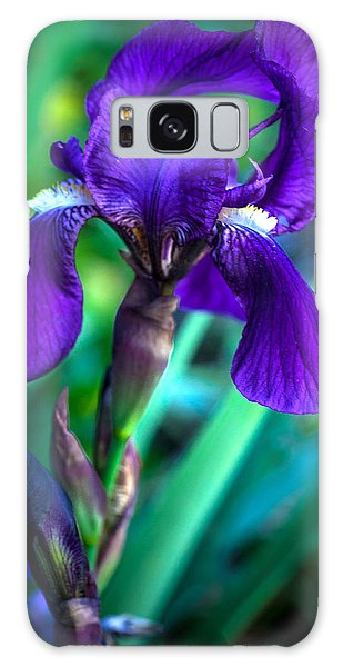 Iris Blooming Galaxy Case