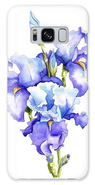 Iris Blooms Galaxy Case