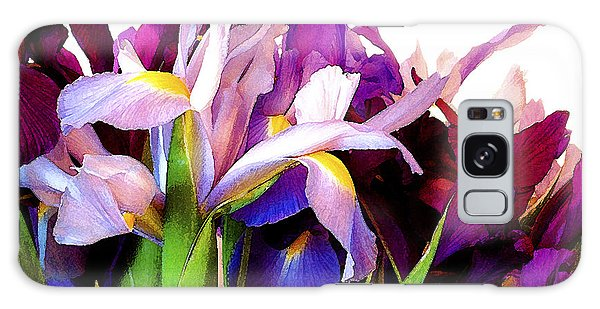 Iris Bouquet Galaxy Case